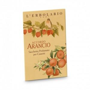 Accordo Arancio Perfumed sachets for Drawers