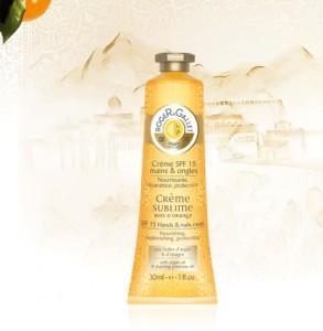 Hand cream. Creme mains et ongles. Creme Sublime 30 ml. Bois d Orange.