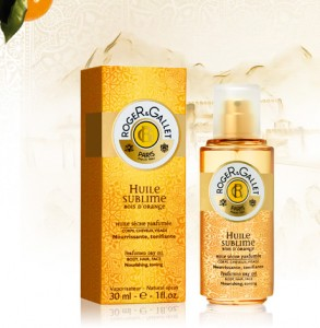Perfumed Dry Oil. Huile Sublime 30 ml. Bois d Orange