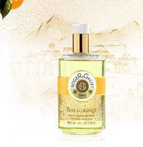 Perfumed Liquid Soaps.Perfumed Liquid Soap 300 ml. Bois d Orange