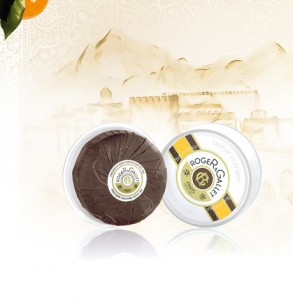 Round Soaps. Perfumed Soap-travel box 100 g. Bois d Orange